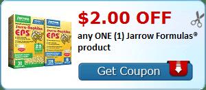 $2.00 OFF any ONE (1) Jarrow Formulas® product