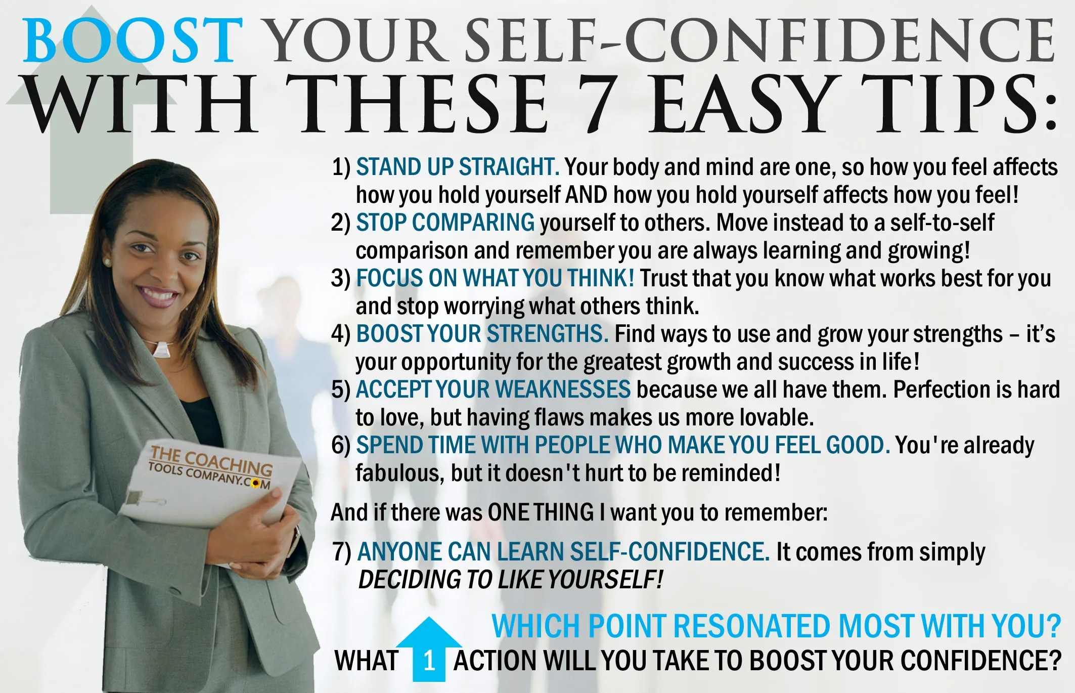 Boost Your Self Confidence With These 7 Easy Tips