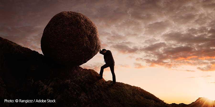 Pushing Rock Uphill