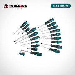 131 SATINUM juego destornilladores y puntas completo con estuche blando 01