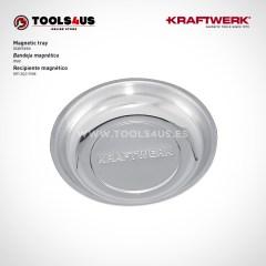 Bandeja magnetica imantada para taller, fabricada en acero inoxidable tools4us herramientas profesionales 2