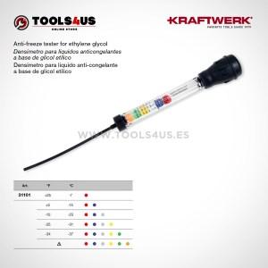 31101 KRAFTWERK herramientas taller barcelona espana Densimetro liquidos anticongelantes base glicol etilico 01