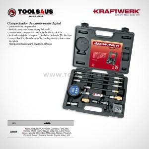 31107 KRAFTWERK herramientas taller barcelona espana Comprobador compresion digital Motores Gasolina 01