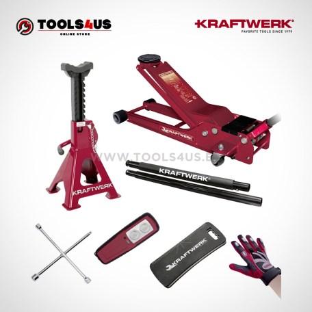 38111SET KRAFTWERK herramientas taller barcelona españa Kit Universal para cambio ruedas PRO 01