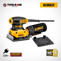 DWE6411 DeWalt LIJADORA ORBITAL 230W 1/4 HOJA herramientas profesionales oferta online profesional 05