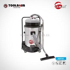Aspirador Industrial INOX 70L 2000W Leman ASP701 01