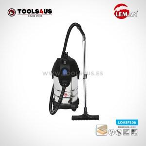 LOASP306 Aspirador de Polvo y Agua 30L 1400W Leman 01