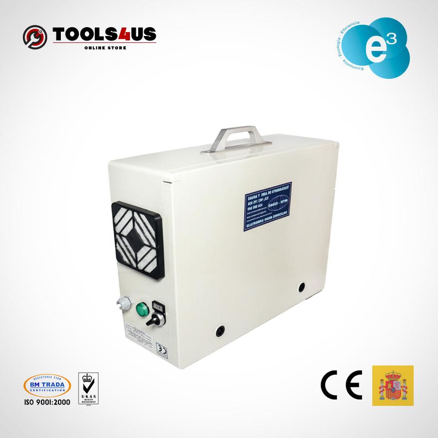 equipo generador ozono portatil oficinas naves desinfectante ambientes aire hoteles locales vehiculos 500mg 01 - Generador de Ozono Portatil 500mg