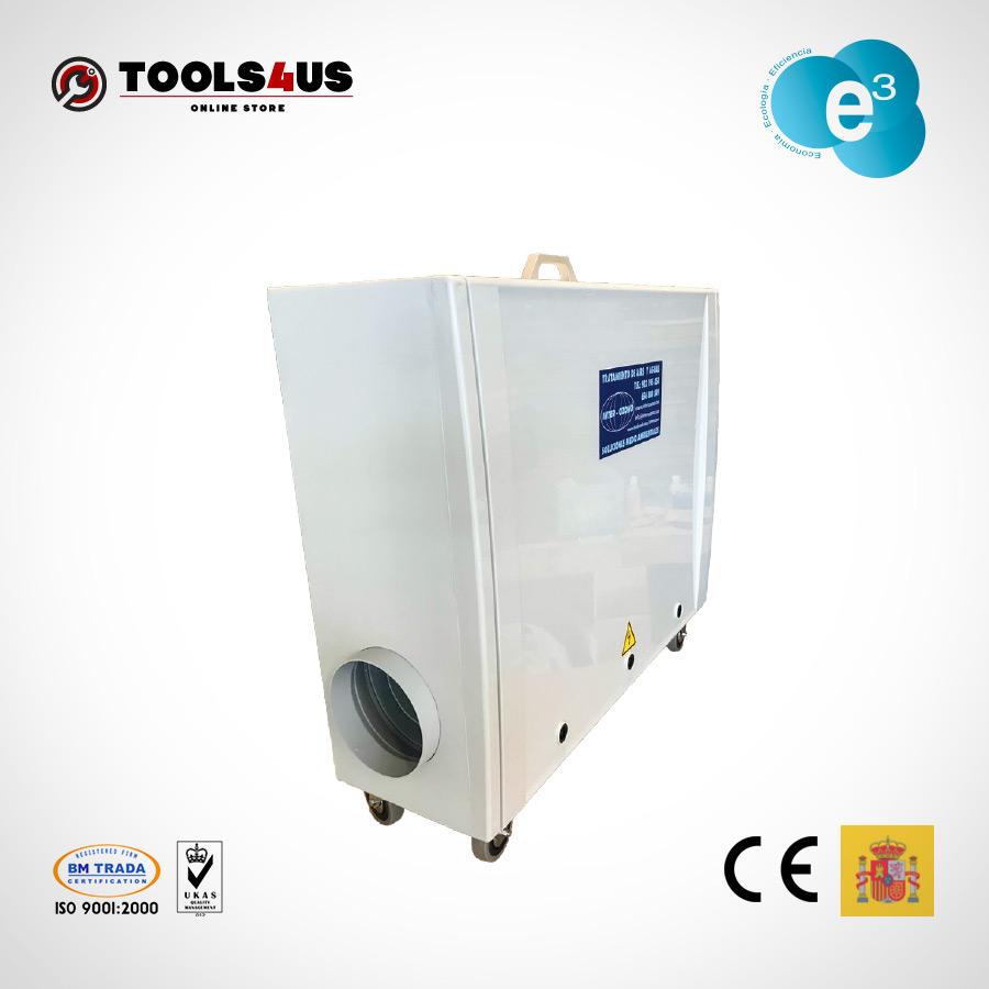 equipo generador ozono portatil oficinas naves desinfectante ambientes aire hoteles locales vehiculos 5000mg 01 - Generador de Ozono Portatil 5000mg