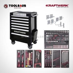 Carro de taller equipado con herramientas profesional automocion industria bicicleteria ebike b407 102400516 01b