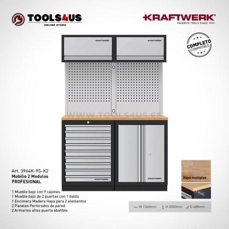 3964k 9s k2 mueble taller oficina laboratorio garage biciletas profesional herramientas kraftwerk barcelona 01