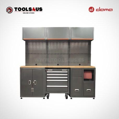 Da1210kit mueble taller mobiliario taller garage industria profesional herramientas armarios banco de trabajo dama nrstools nrs 01