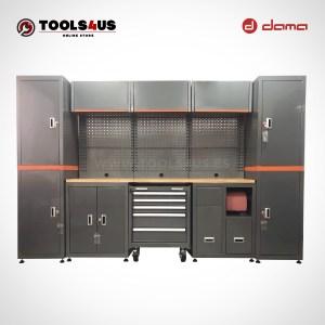 Da1210kitxl mueble taller mobiliario taller garage industria profesional herramientas armarios banco de trabajo dama nrstools nrs 01