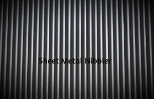 Sheet Metal Nibbler