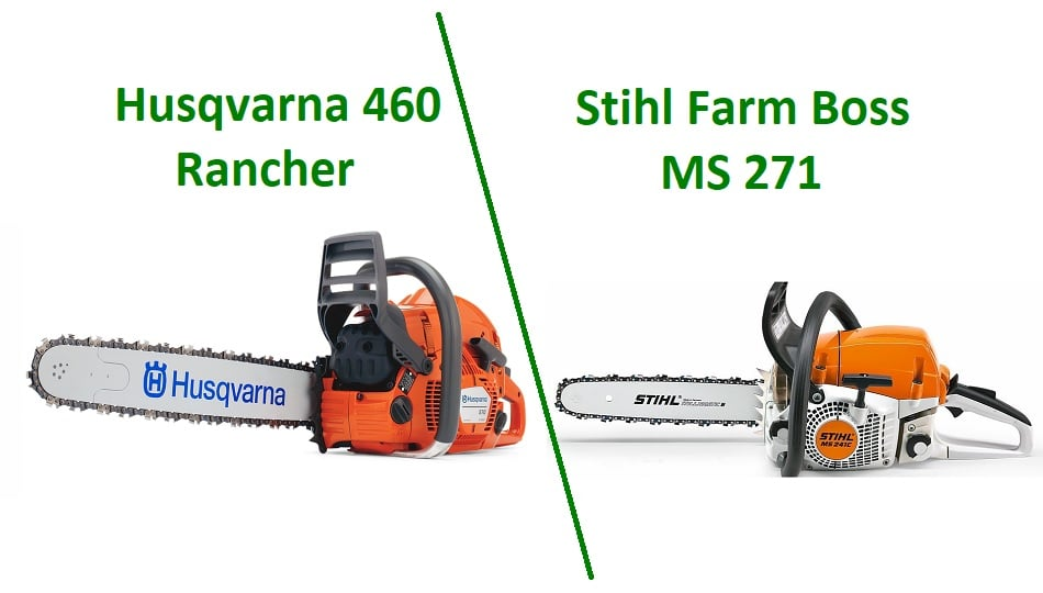 Husqvarna 460 Rancher vs Stihl Farm Boss | Toolsadvisorpro