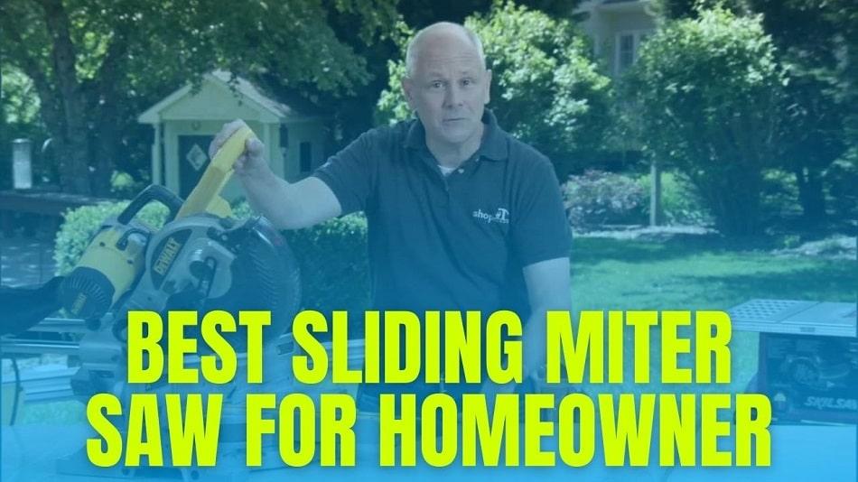 Best Sliding Miter Saw for Homeowner (Under $300) in 2021