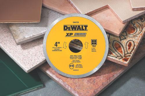 DeWalt DW4729 Ceramic Tile Diamond Blade 4