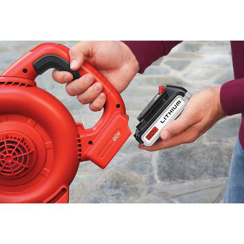Black and Decker LSW20 20V Lithium Cordless Sweeper