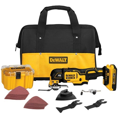 DEWALT DCS355D1 20V XR Oscillating Multi-Tool Kit