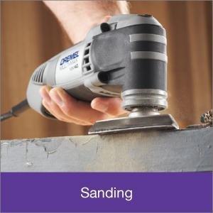 Dremel tool for Sanding