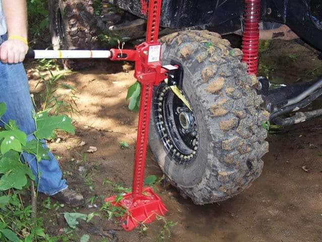Correct Procedure to Jack Up a Farm Tractor: A Detailed Guide