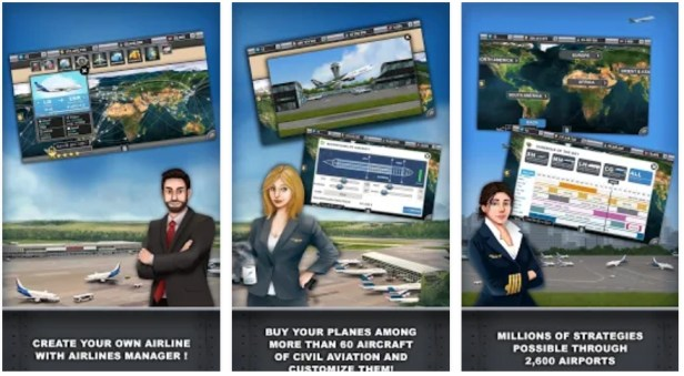Airline Manager Tycoon 2018 Mod apk hack