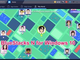 Bluestacks Android N 2018 Offline installer Windows 10