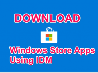 Download Windows Store Games through IDM XAP files