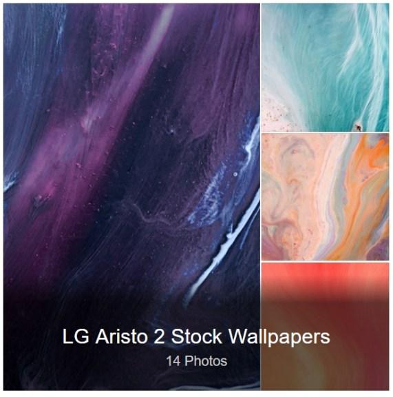 LG Artisto 2 Stock Wallpapers