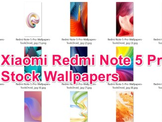 Xiaomi Redmi Note 5 Pro Stock Wallpapers