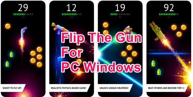Flip the Gun for PC Windows 10/8/7