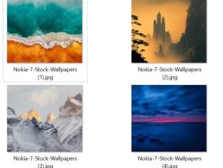Nokia 7 Plus Stock Wallpapers
