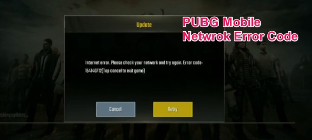 PUBG Mobile Network Error Code Fix
