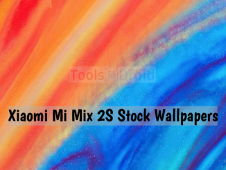 Xiaomi Mi Mix 2S Stock Wallpapers