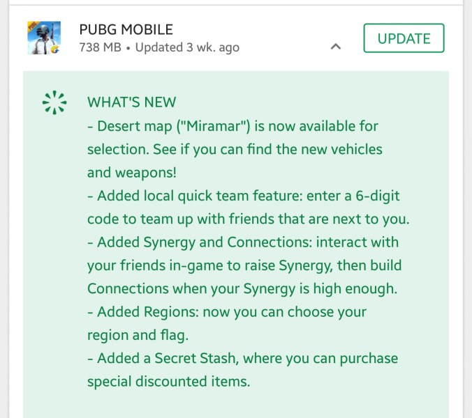 Pubg Mobile 0.5 Apk whats new