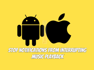 Stop Notifications from Interrupting Music Playback