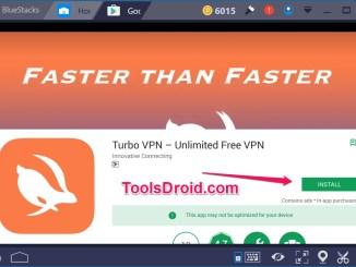 Turbo VPN for pc Windows 10