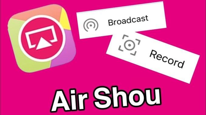 Airshou Screen Recorder Apk