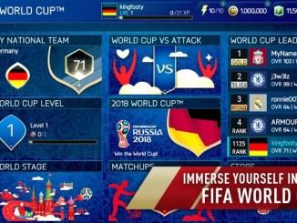 FIFA Soccer FIFA World Cup Mod Apk cheats