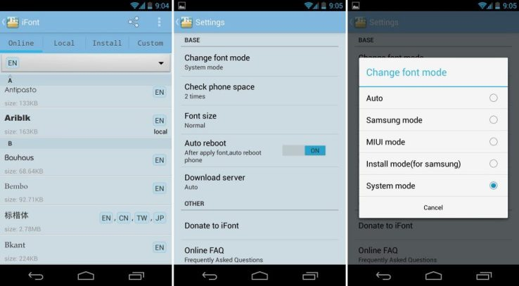 How to Change Font on Android Devices