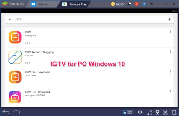 IGTV by Instagram for PC Windows 10