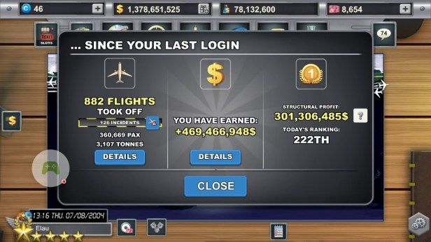 download game airline manager 2 mod apk