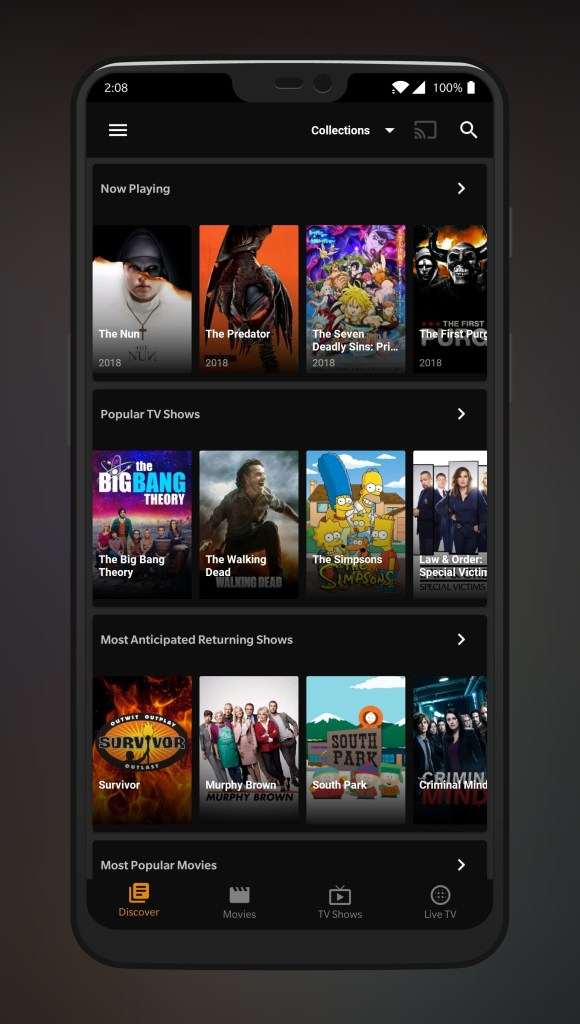 Tea TV apk v7.1 Android