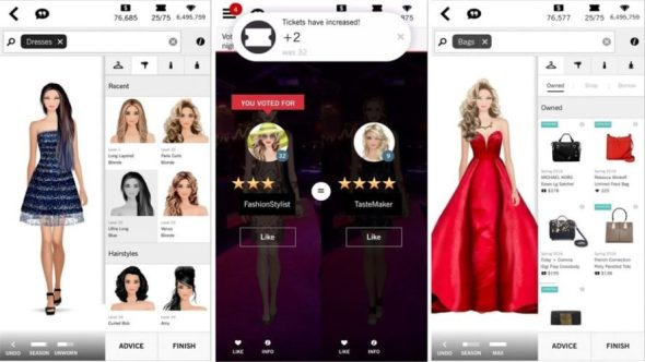 Covet Fashion Dress Up Game Android Mod Apk hack