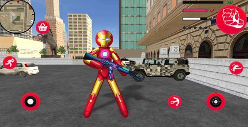 Iron Stickman Rope Hero Mod Apk