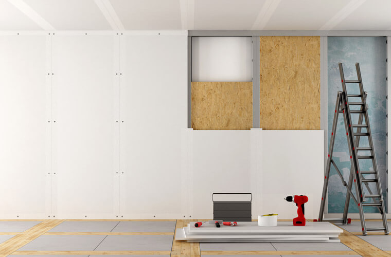 How To Layout Drywall To Be Mounted Tools First