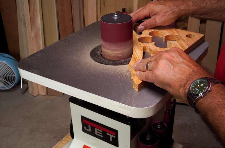 Drum Sander Attachment For Angle Grinder
