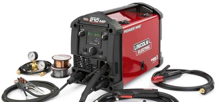lincoln electric powermig 210 mp welder review tools focusThe Power Mig 210 Mp Is The Ideal Mig Machine For The Welding Novice #3