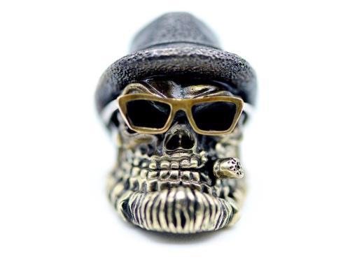 Zaiser Bead Gent Skull