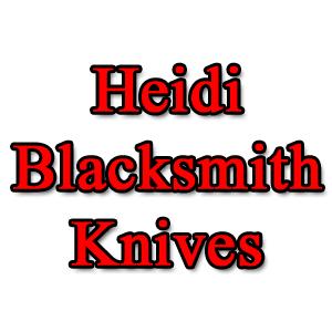 Heidi Blacksmith Knives